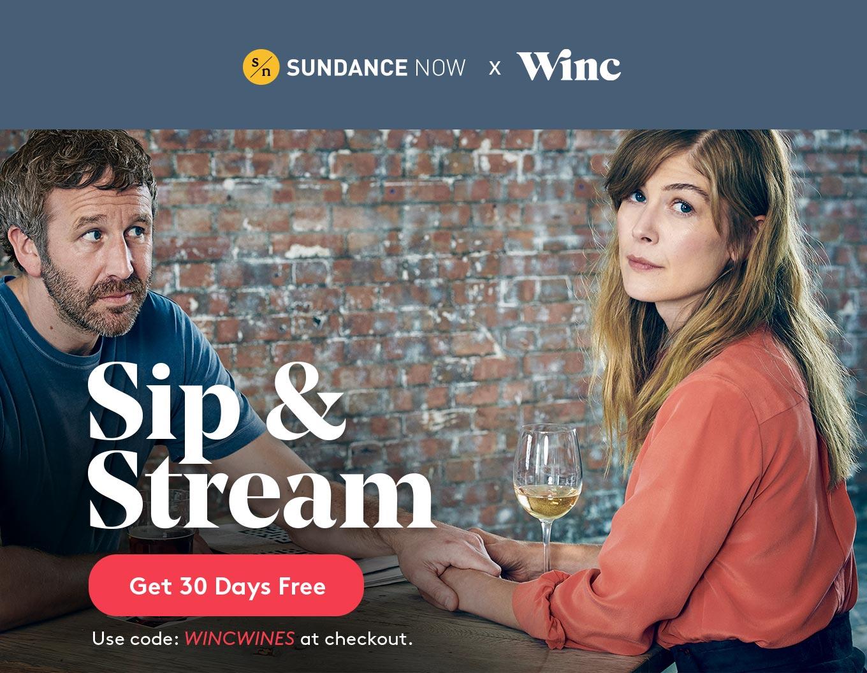 Sip & Stream: Get 30 Days Free